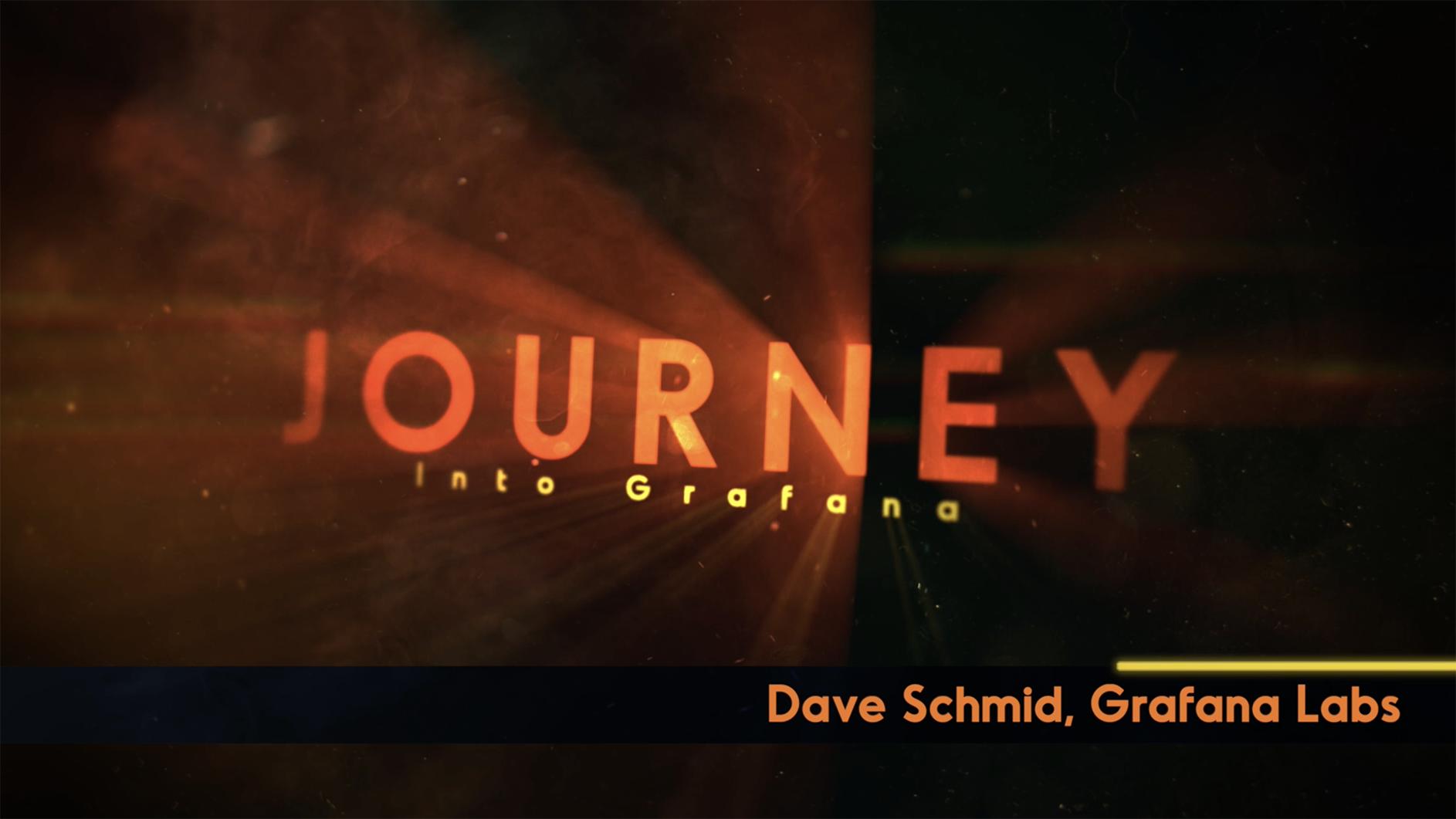 Journey Into Grafana - Header